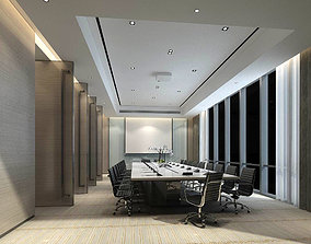Conference room office reception hall 19 3D model