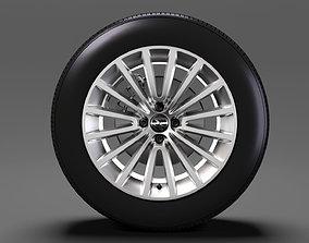 3D Volkswagen Up wheel 2017