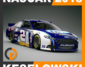 3D model Nascar 2013 Car - Brad Keselowski Ford Fusion 2