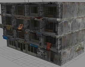 Arab City Building - Building G 3D asset