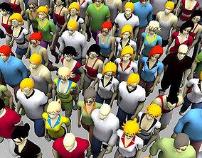 3D people avatars animated realtime
