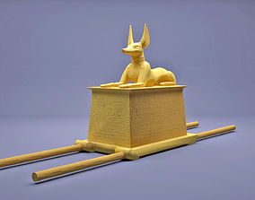 3D printable model Egyptian Anubis Shrine Tutankhamun