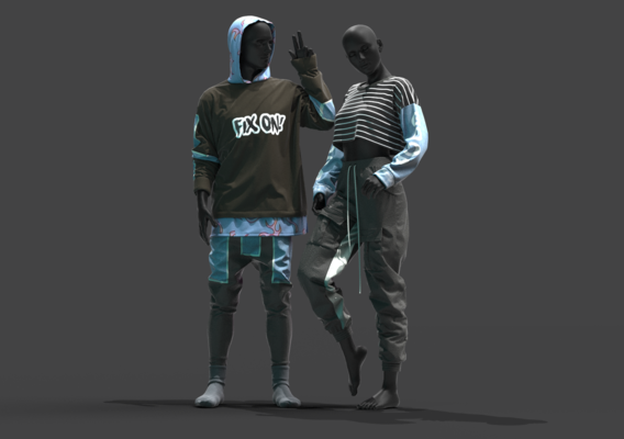 Male & Female Outfits