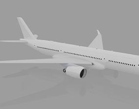 Airbus A350-900 XWB 3D