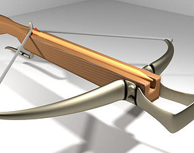 Crossbow - Medieval Type 1 3D