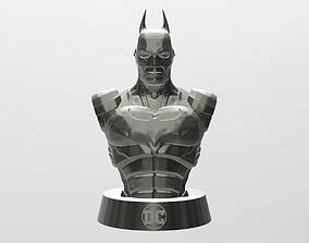 3D printable model printer Batman Bust
