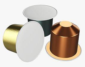 3D model Coffee pod packaging