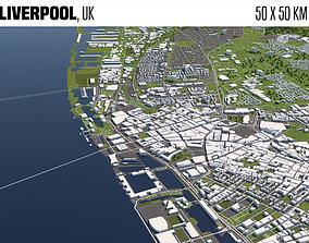 3D Liverpool UK