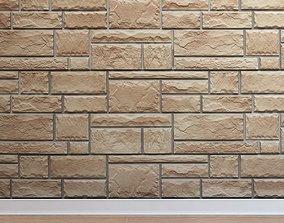 3D asset Artificial stone Stone 002