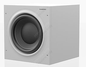 3D model Bowers and Wilkins ASW 610 XP White