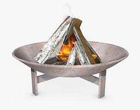 3D Fire Plate
