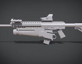 Sig Swat 556 3D printable model