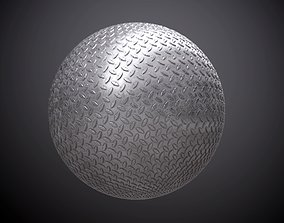 Metal Kick Plate Seamless PBR Texture 3D model