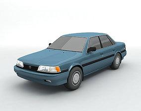 1991 Toyota Camry Sedan 3D model