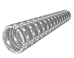 3D print model Perfect Bulgari Parentesi replica rings 1
