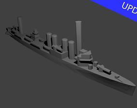 3D printable model US Clemson Class Destroyer