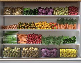 3D model Fruit shelf 3