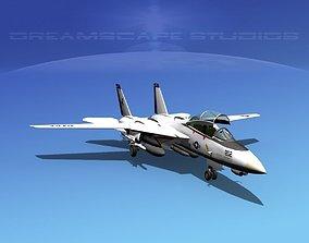 3D model Grumman F-14D Tomcat T11a vf213