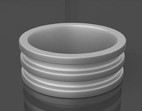 3D print model Metal Ring