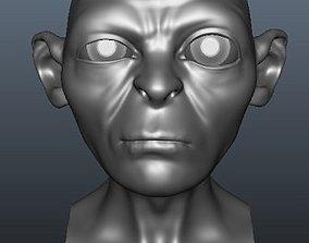 3D Gollum Blend Shapes