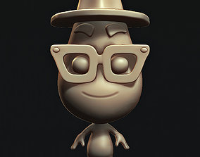 JOE GARDNER PIXAR SOUL 3D printable model