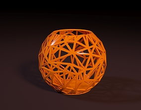 Beautiful vase decor 3D printable model vintage