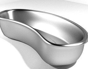 3D model Medical Equipment Kidney Dish