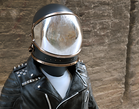 3D model Spacesuit Rock N Roll Astronaut - Rigged - Loop 1