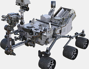NASA Curiosity Rover 3D model