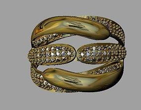brilliant necklace Fashion Women Ring 3D printable model