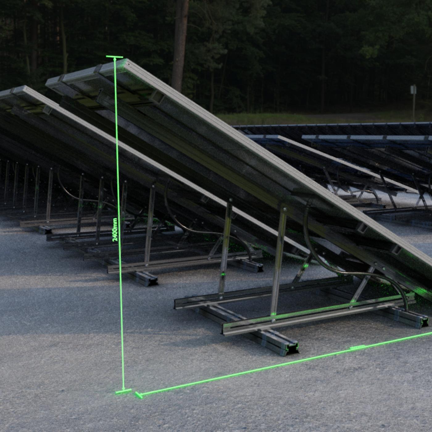 Low-Poly Solar Panels - Blender-2.93 Eevee