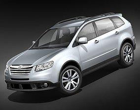 3D model Subaru Tribeca midpoly
