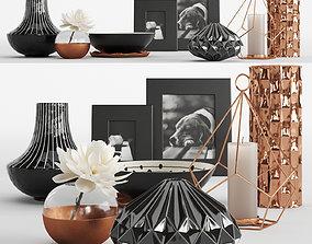 3D model Decorative Set 1 by Kelly Hoppen