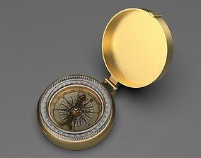 adventure 3D model Gold Compass