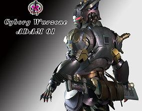 Cyborg War Zone - Adam01 3D model