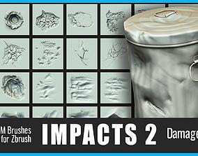 3D Impacts Damage Pack 2