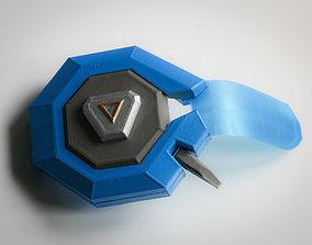 Jack Morrisons eye cover face piece 3D print model