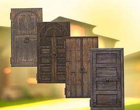 Medieval door medieval 3D asset realtime