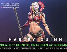 3D printable model Harley Quinn Statue - DC Collectibles