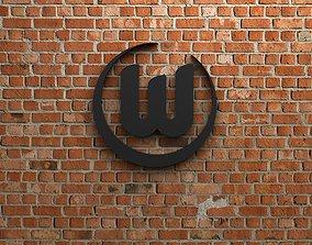 VfL Wolfsburg Logo 3D model