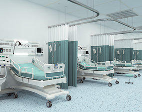 3D model Medical Patient Room