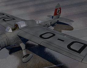 Arado Ar-198 ww2 3D model