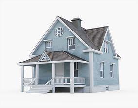 Residential House 02 3D model