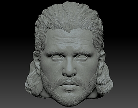 Jon Snow from Game of Thrones Kit Harington 3D