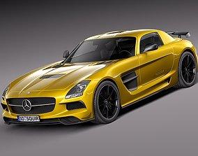 Mercedes SLS AMG Black 2013 3D model