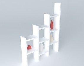 shelves section SU 3D model