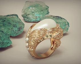 Pearl Ring Waves 3D print model