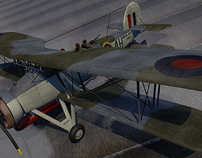 3D Fairey Swordfish Mk-1