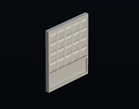 Fence 02 3D model realtime
