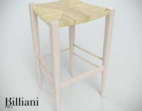 3D model Billiani Vincent VG stool 445 rope